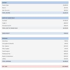 Simple Income Statement What Is An Income Statement Financial Statement For Business