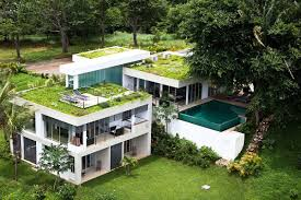 Eco Friendly Design 10 Homes With Gorgeous Green Roofs And Terraces Green Homes Design