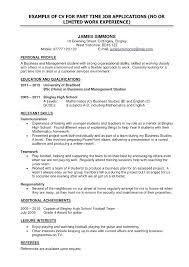 High School Cv Sample Sample Grad School Resume Application Resume Sample Application