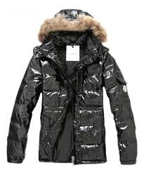 Moncler Down Jackets For Men Rabbit Fur Cap Style Army Black,moncler coats  sale,