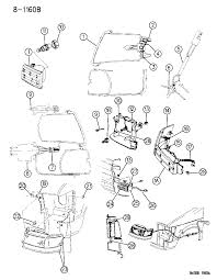 1994 chrysler town country l s front diagram 00000cg3