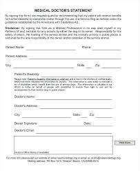 City Md Doctors Note Physicians Statement For Medical Excuse Template Service Note Social
