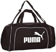 Puma Black/White <b>Large Team Holdall</b> – Physio Warehouse