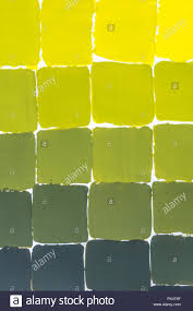 Shades Of Yellow Color Chart Yellow Color Chart Stock Photo 222612279 Alamy