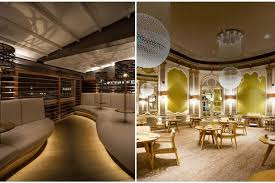 french house lighting. Manchester House (left) The French (right) Lighting