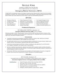 Emt Resume Inspiration 417 Emt Resume Sample Shoot Resume Examples Memorable Coloring Page