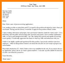 Cover Letters Read Now Adorable Application Letter For Bank Format