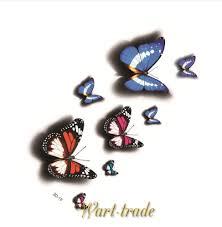 3d Tetování Motýl D019
