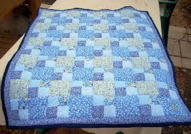 Vintage Style Patchwork Quilt in Shades of Blue on Handmade ... & In an effort to capture days gone by, I've created this patchwork quilt. It  is made from polyester cotton blend fabrics, all in shades of blue. Adamdwight.com
