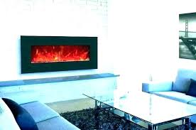 wall mounted fire place electric fireplaces pottery barn wall mounted fireplace screen