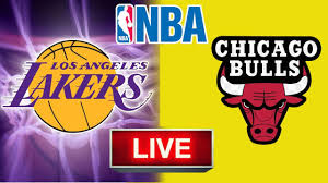 Lakers VS Bulls - NBA Scoreboard - YouTube