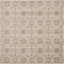 rushmore cream 8 x 8 square rug