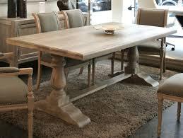 best farmhouse dining room decor and design ideas turned tressel table legs 7 x 24