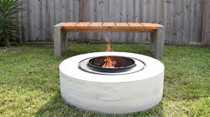Fire Drum Designs Making A Concrete Fire Pit From A Washing Machine Drum