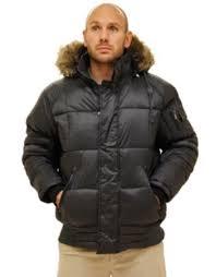 rocawear hooded parka puffer coat black xl men s detachable fur hood