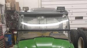 John Deere Gator Led Lights Installation Of Led Lights On The Gator Getting Frustrated Then An Idea