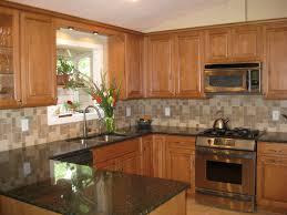 kitchen backsplash light cherry cabinets. Futuristic Kitchen Tile Backsplash Ideas With Cream Cabinets Light Cherry H