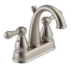 delta plumbing fixtures.  Plumbing Delta 2575LFSS Double Handle Centerset Bathroom Faucet To Plumbing Fixtures