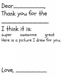 Thank You Note Templates Free
