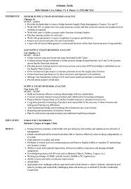 Senior Supply Chain Analyst Resume Samples Velvet Jobs Best Resume