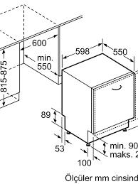 Profilo BMA5101EV Ankastre Bulaşık Makinesi ürünü turkuaztrade.com'da
