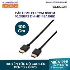 Mua ngay Cáp HDMI Elecom 100cm 10.2Gbps DH-HD14EA10BK giá rẻ 139.000₫