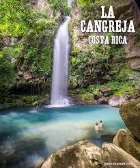 la cangreja waterfall rincon de la vieja costa rica