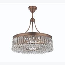 valencia 24 inch hanging chandelier with heirloom grandcut crystals 2901 24