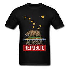 Bear T Shirt Design Us 7 32 40 Off Alaska Republic Bear T Shirt Pure Cotton Tshirt Men T Shirt Cartoon Design Shirts Classic Funny Tee Shirts Top Quality Clothes In