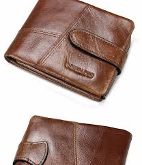 vintage genuine leather women men wallets european and american style leather wallet womens wallets and purses