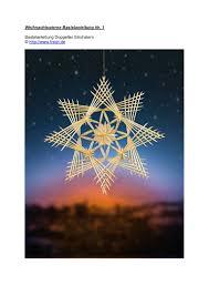 20 Free Magazines From Weihnachtssternebastelnde