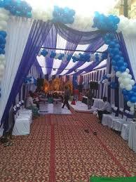 anniversary tent decoration s