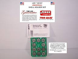 Hornady Shell Holder Chart Lee Precision 90197 Universal Press Shell Holder Set Clear