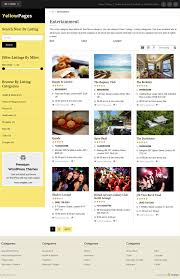 Template For Directory Responsive Directory Theme 2019 Yellow Pages Wordpress Business