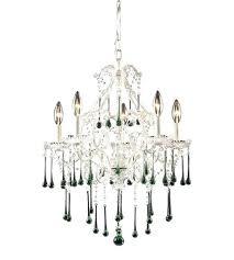 5 light inch antique white chandelier ceiling photo ciara dd crystal floor