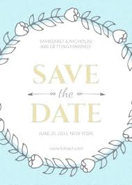 Wedding Save The Date Template Templates Free Online Three