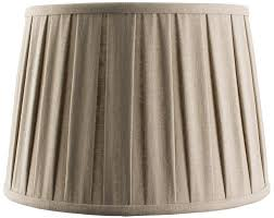 12 lamp shade cleo faux linen pleated taupe 12 inch lamp shade 12 inch lamp shades