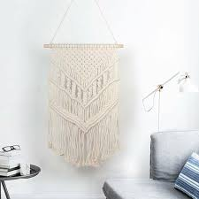 bohemian hand woven cotton rope