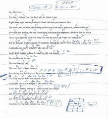 Lay Me Down Chord Chart Lay Me Down Sam Smith Guitar Chord Chart 2019 Guitar