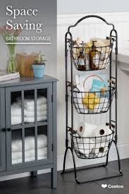 This 3-Tier Market Basket Stand is the practical and elegant storage  solution that will