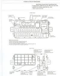 95 honda civic fuse box honda wiring diagram gallery 93 honda civic fuse diagram under dash at Honda Del Sol Fuse Box
