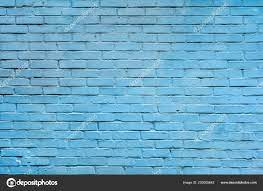 Light Blue Brick Wall Background ...