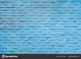 Light Blue Brick Wall Background ...