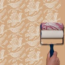 Pattern Paint Roller Interesting This Embossed Roller Paints A Repeat Pattern In One Smooth Motion