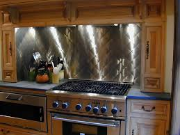 Stainless Steel Backsplash Kitchen Stainless Steel Backsplashes Brooks Custom