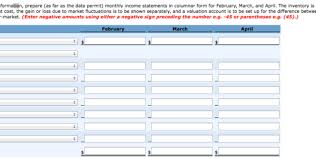 excel income statement monthly income statement template excel monthly income statement