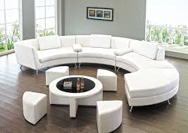 round sectional sofa unbelievable for unique seating alternative traba homes interior design 11