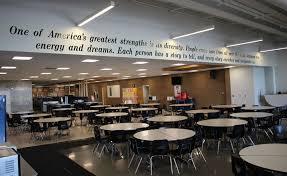 High school cafeteria Bellaire Lexington Clipperherald Lexington High School Open House News Lexchcom