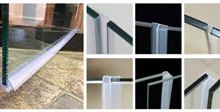 types of shower door sweep replacements and how to install sweeps inside glass seal decorations 19