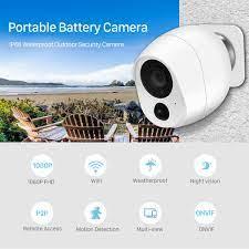 1080P Điện Mini Pin Camera Camera Wifi IP 2MP Cảm Biến Chuyển Động Phát  Hiện Nhà Thông Minh Không Dây Camera Quan Sát camera ICSee Surveillance  Cameras